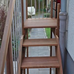 bauanleitung außentreppe | deingruen.de, Moderne