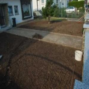Vorbereitung-Vorgarten